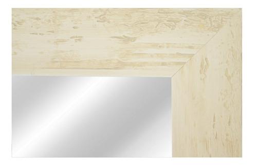 espejo con marco de madera 6,5 cm patinado 62x82 cm fina!!!!
