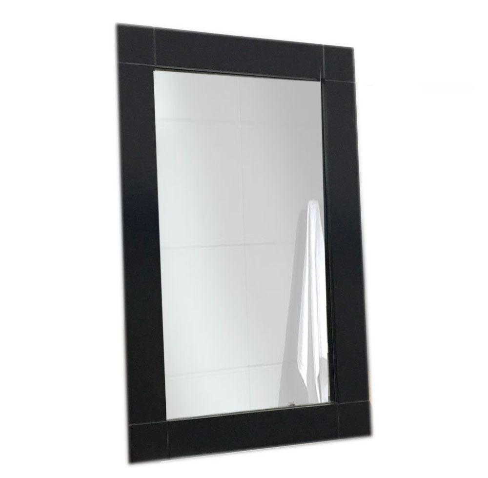 Espejo Con Marco De Madera Wengue Ancho 80x50 Cm - $ 1.255,70 en ...