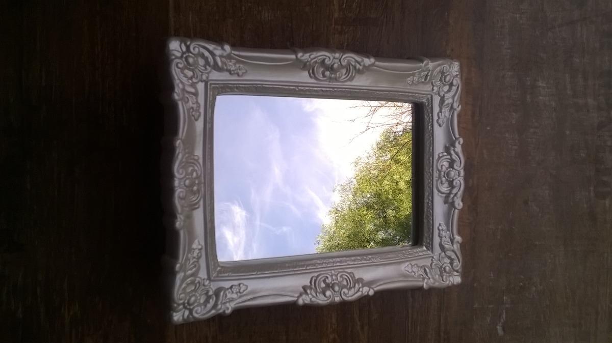 Espejo con marco de yeso estilo vintage 210 00 en Espejos vintage sin marco