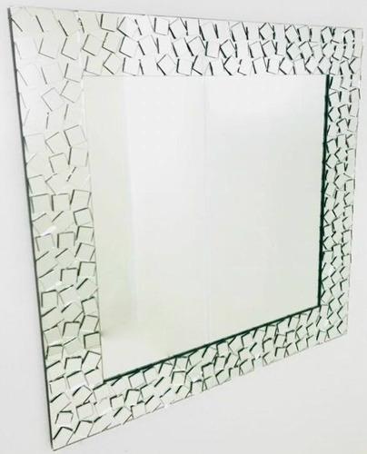 espejo con marco decoracion hogar habitacion baño