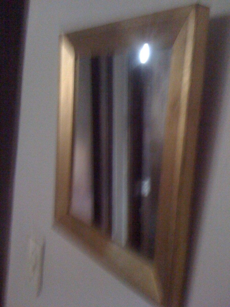 Espejo con marco dorado envejecido en mercado libre - Espejos con marco ...