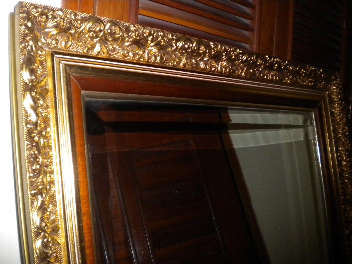 Espejo Con Marco Estilo Rococo - Bs. 180.000,00 en Mercado Libre