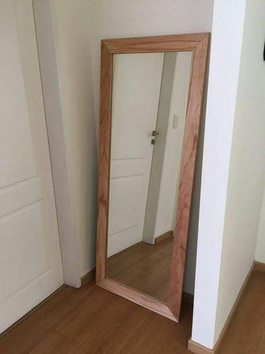 espejo con marco / paraiso enchapado 1.80 x 0.70// by objeto