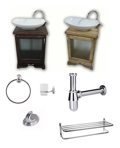 espejo con marco repisa madera repisa living comedor baño
