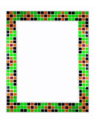 espejo con marco venicita veneciana 70x90  naffull