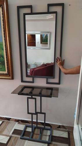 espejo con mesa