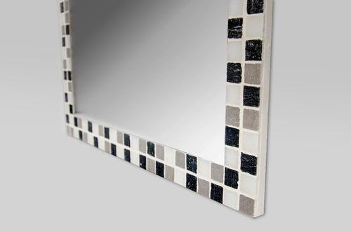 espejo con venecitas 50x70cm