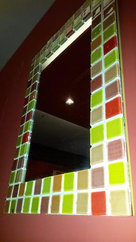 espejo con venecitas