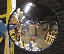 Espejo convexo de seguridad de pared protecci n vigilancia for Espejo esferico convexo