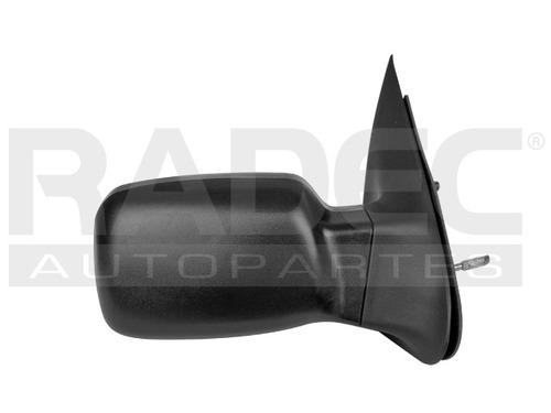 espejo  courier 01-12 c/control corrugado negro der