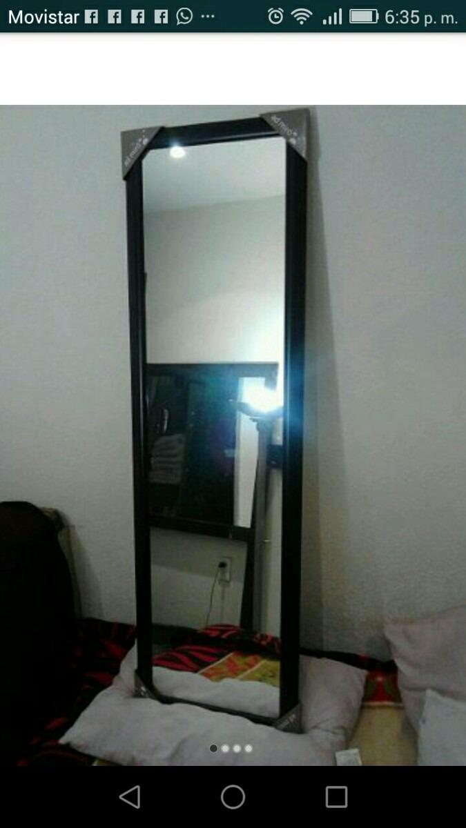 Espejo cuerpo completo en mercado libre for Espejo cuerpo entero
