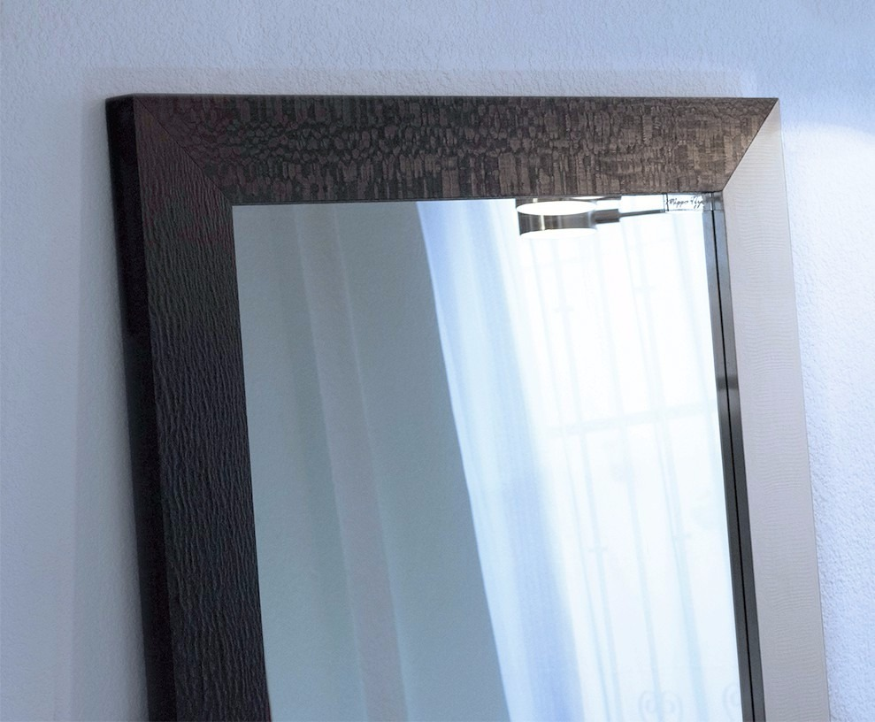 Espejo cuerpo completo marco de madera black 2 mape tzin for Espejo cuerpo entero precio
