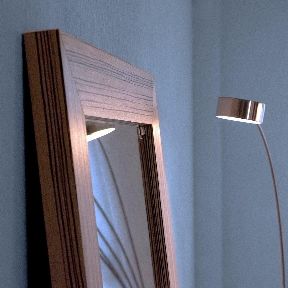 Espejo cuerpo completo marco de madera foderato mape tzin for Espejo cuerpo completo
