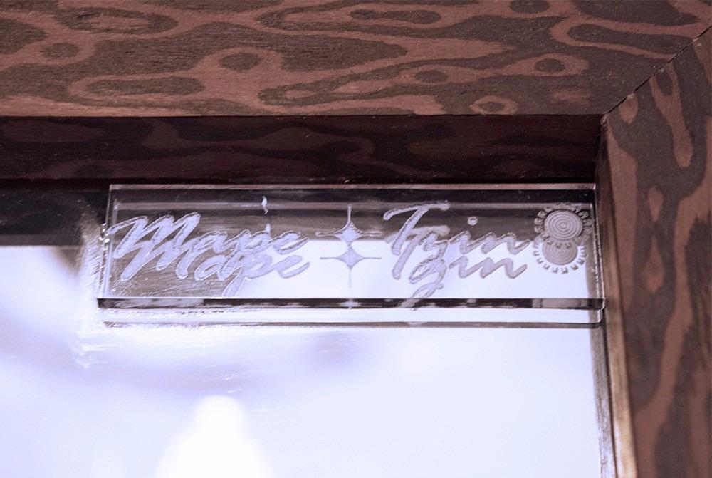 Espejo cuerpo completo marco de madera velluto mape tzin for Espejos decorativos marco de madera