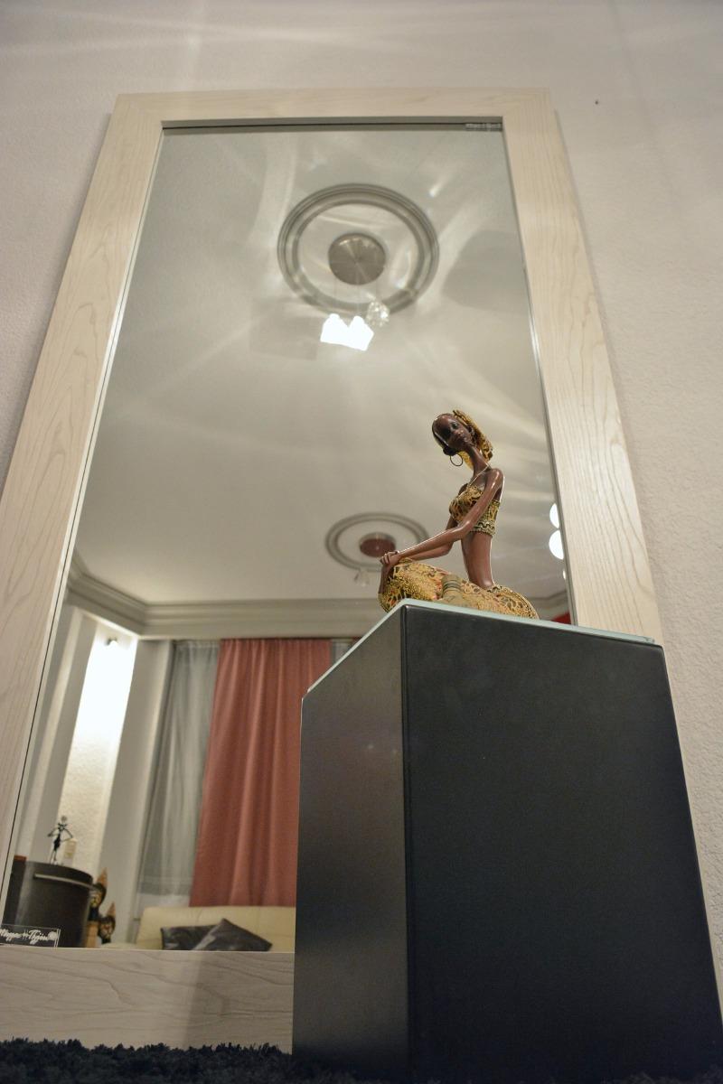 Espejo cuerpo completo marco madera de fresno mape tzin for Espejo cuerpo completo