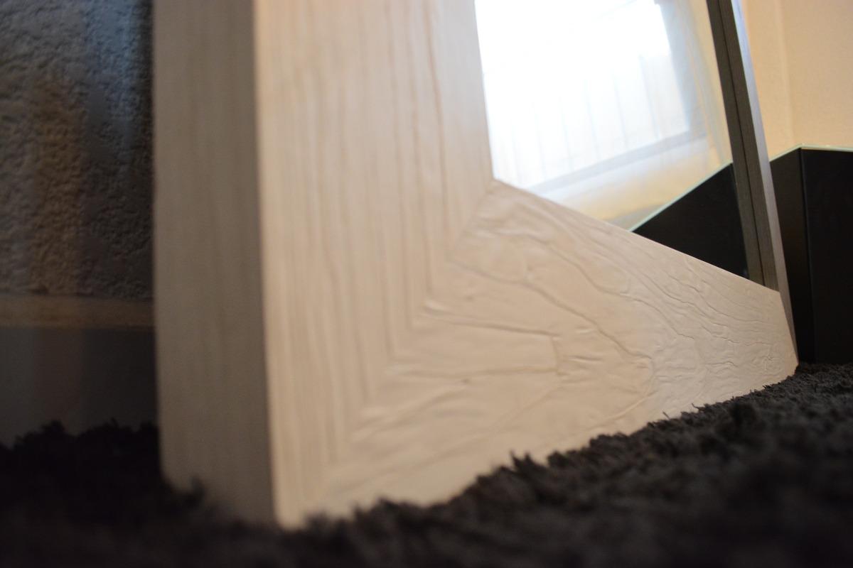 Espejo cuerpo completo marco madera natural mape tzin for Espejo cuerpo completo