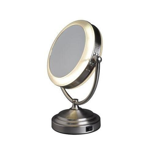 espejo de aumento iluminado de rialto luz del da