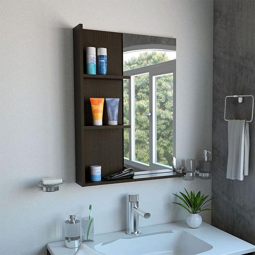 espejo de baño saidana wengue