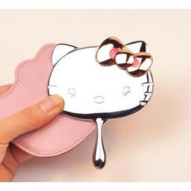 Espejo De Bolsillo Con Estuche Hello Kitty