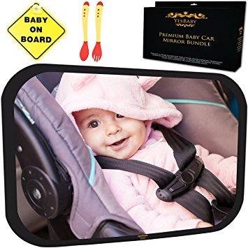 Espejo de coche de beb bundle montado completamente - Espejo coche bebe carrefour ...