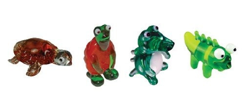 espejo de colección en miniatura  tortuga  tortuga  gator p