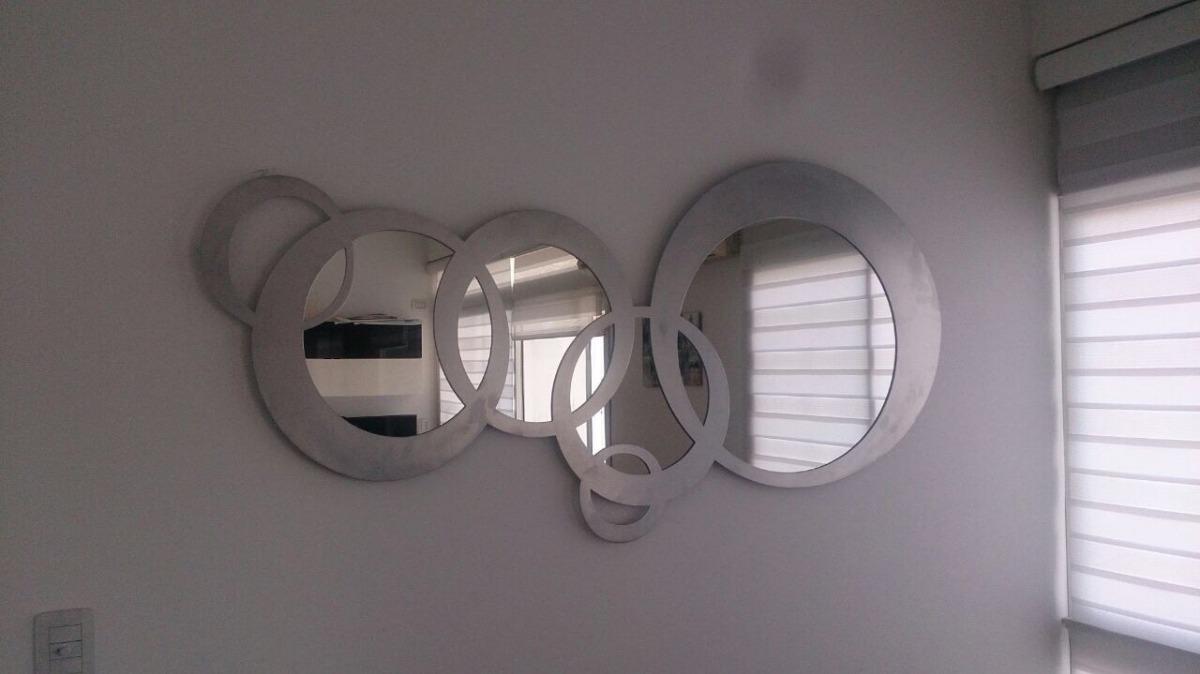 Espejo De Diseno En Metal De 16x80cm C3 Espejos 799000 En - Espejos-diseo