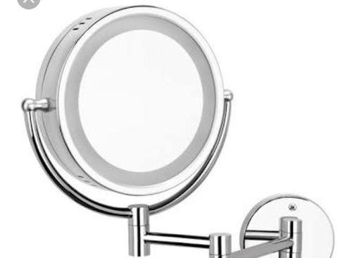 espejo de doble vista con luz y aumentó helvex