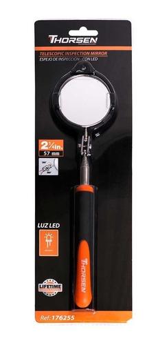 espejo de inspección thorsen de 94 cm. con luz led