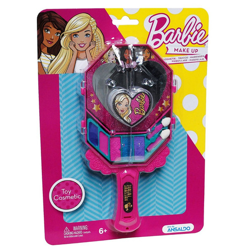 espejo de mano make up barbie (1284)