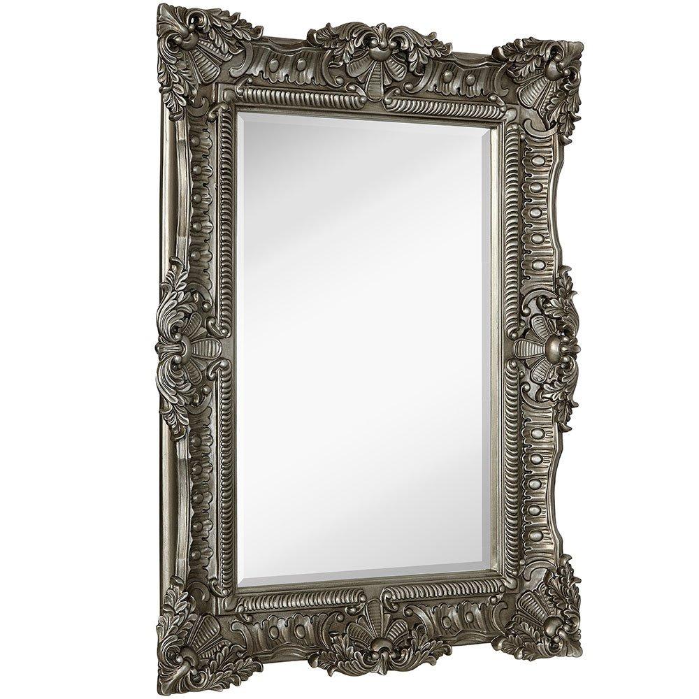 Espejo De Marco Barroco De Plata Antiguo Adornado De Gran - S/ 1.832 ...