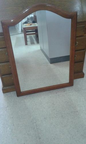 espejo de pared cedro macizo calidad premium