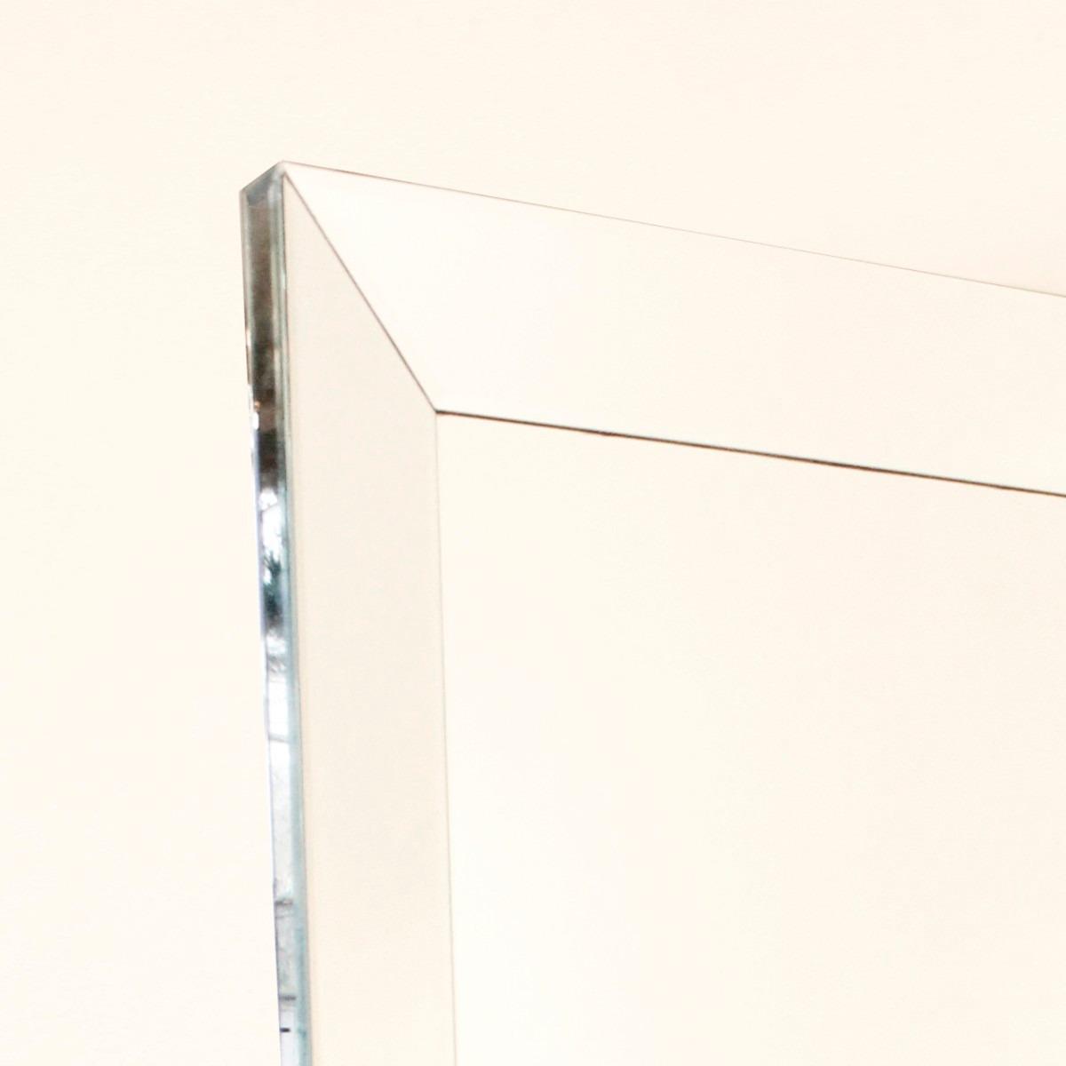 Espejo De Pie Cristal Marco Inclinado Biselado Moderno - $ 40.000,00 ...