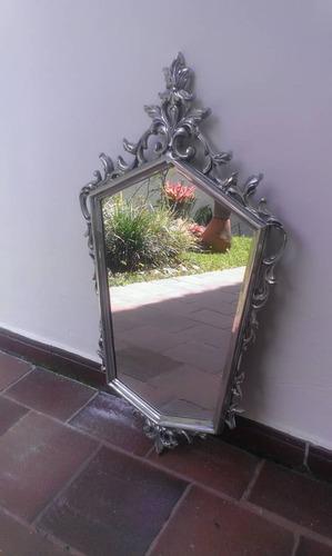 espejo de piuter