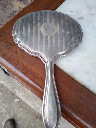 espejo de plata antiguo