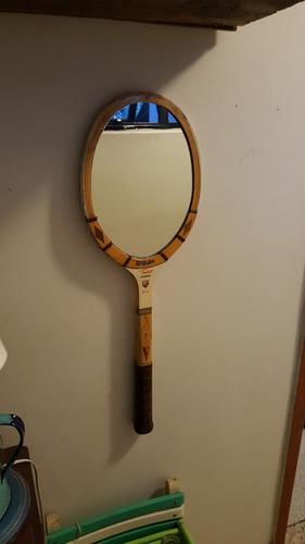 espejo de raqueta