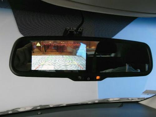 espejo de retroceso con pantalla incorporada