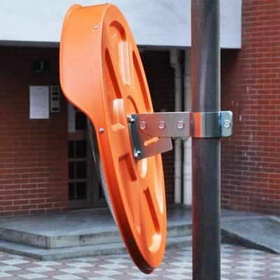 espejo de seguridad convexo  45 cm de diametro