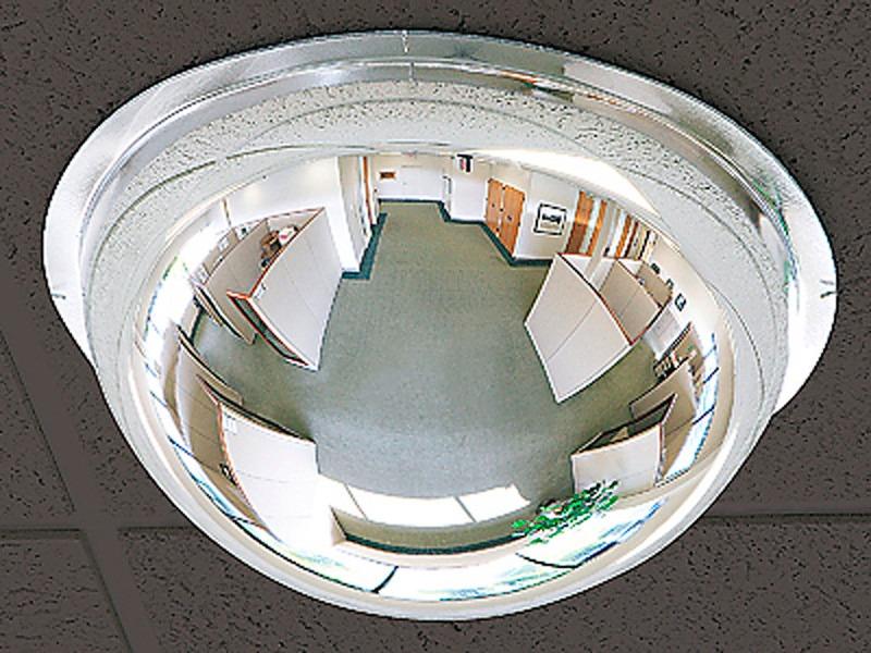 Espejo De Seguridad De Domo Completo De Acrilico De 18