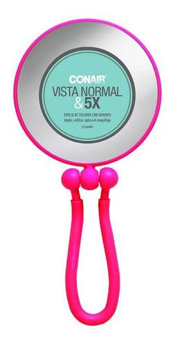 espejo de tocador soft touch con base retractil doble vista