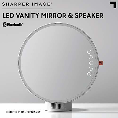 espejo de vanidad bluetooth de imagen mas nitida con luces y