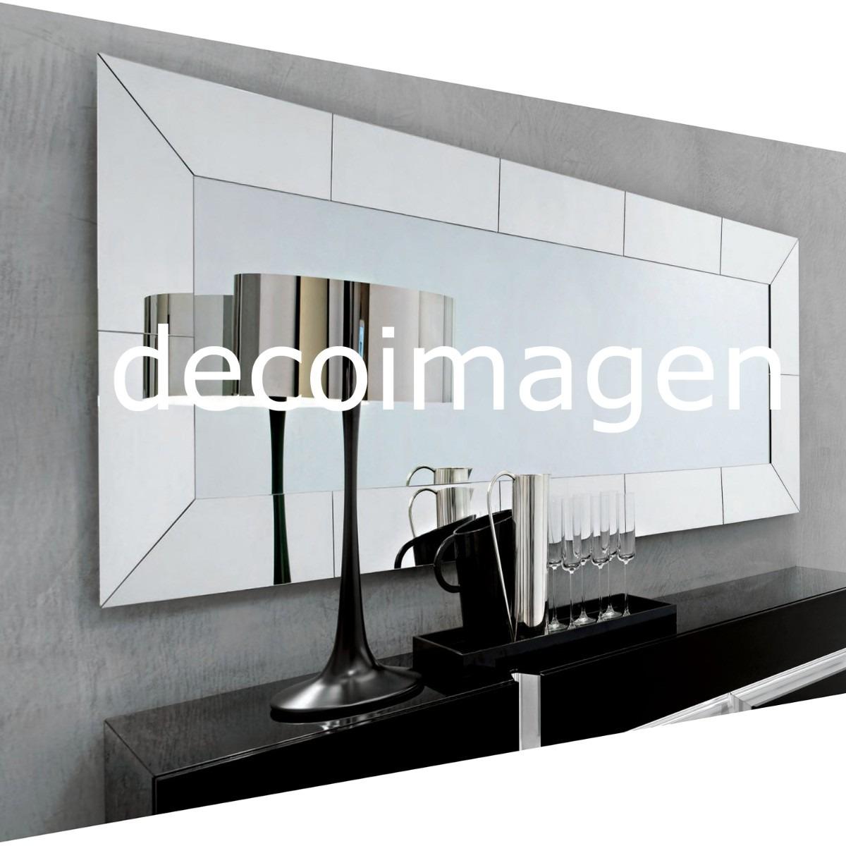 Espejo cristal nouveau art deco marco espejo t100x60cm - Espejos con marco ...