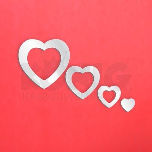 espejo decoracion nueva tendencia diseño corazones economico