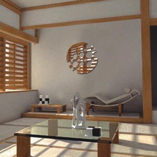 espejo decorativo circular minimalista moderno 40cm