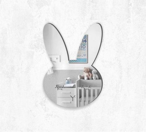 espejo decorativo conejo, original, infantil, bunny