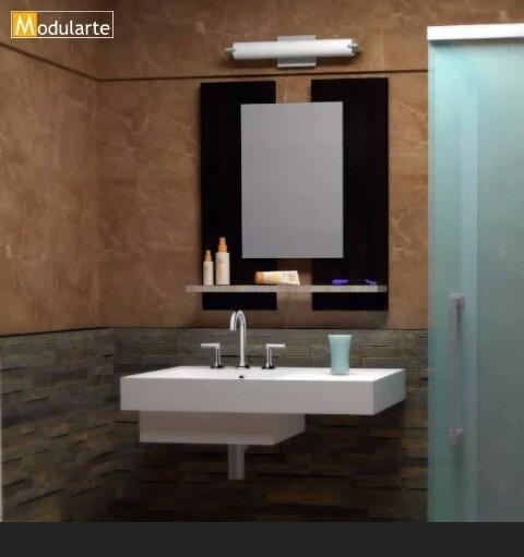 Espejo Para Bao Moderno Great Mueble De Bao De Pvc Moderno Gabinete