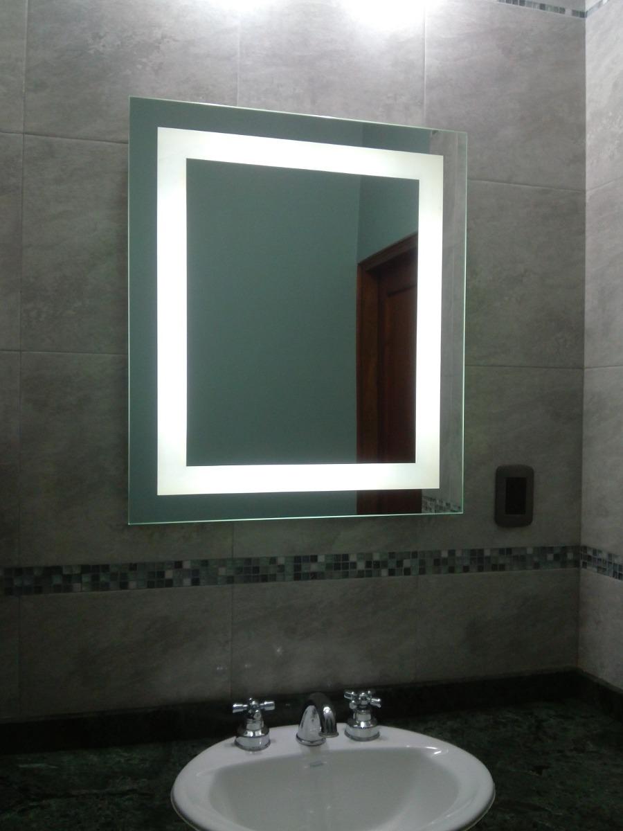 Espejo Decorativo De Diseno Leddeco Con Led Perimetral 799500 - Espejos-diseo