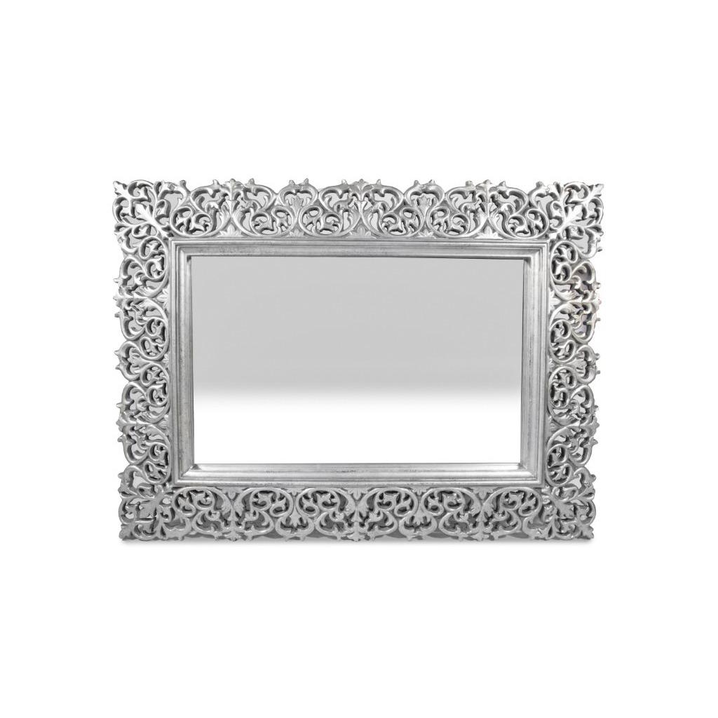 Espejo Decorativo Marco Plateado Decoracion Bm Home - $ 8,630.00 en ...