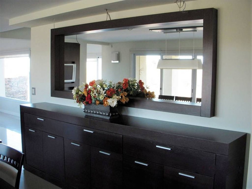 espejo decorativo solido / peluquería, sala , barbería