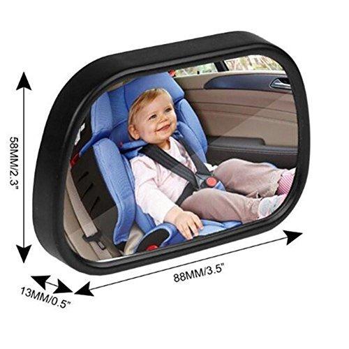 Espejo del coche del beb para el asiento trasero nueva Espejo para carro bebe