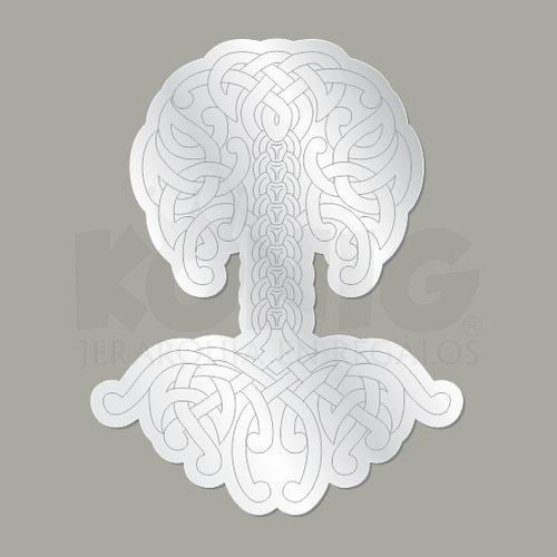 espejo diseño arbol celta decorativo original moderno seguro